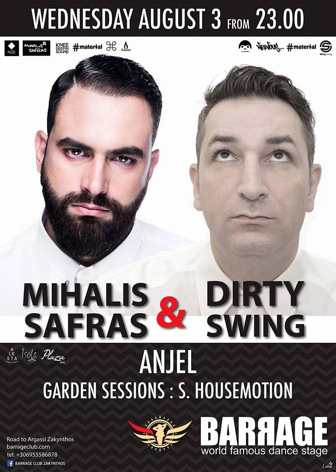 Mihalis Safras & Dirty Swing